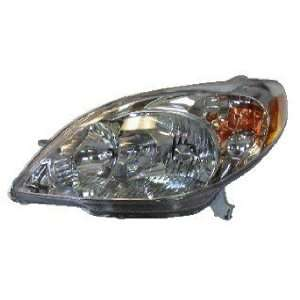 03 04 05 06 07 TOYOTA MATRIX HEADLIGHT HEAD LAMP NEW LH
