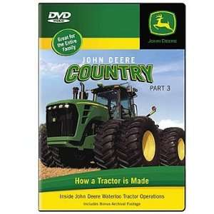 John Deere Country Part 3 DVD  How A Tractor Is Made Toys & Games