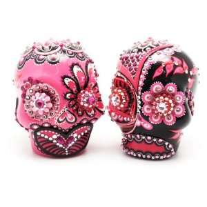 Cake Toppers A00022 Skull Day of Dead Wedding Skull Lover Cake toppers