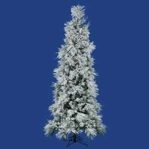 A892875 Swiss Tree Christmas Light, Flocked White