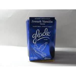 Glade Winter Collection French Vanilla 4 Oz Candle Sports
