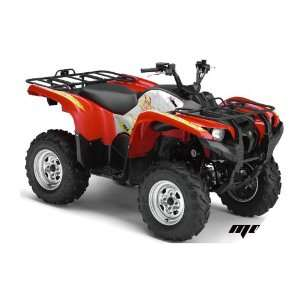 AMR Racing Yamaha Grizzly 700 ATV Quad Graphic Kit   Motorhead Mandy