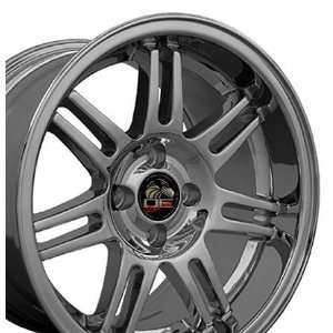 10th Anniversary 4 Lug Style Deep Dish Wheels Fits Mustang