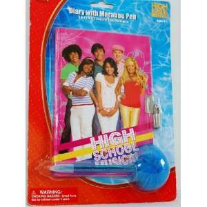 Disney High School Musical Diary with Marabou Pen Toys