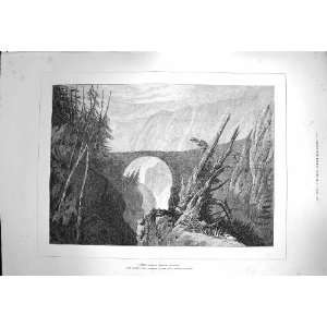 1872 Little DevilS Bridge Altdorf Mountains Fine Art