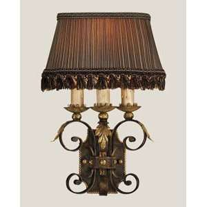 Fine Art Lamps 219550 Castile 18H 1 Light Wall Sconce in Antique Gold