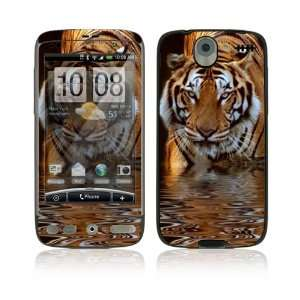 HTC Desire Skin Decal Sticker   Fearless Tiger Everything
