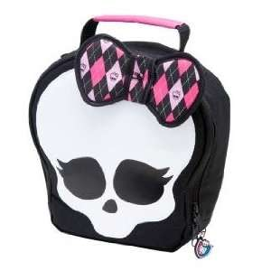 Monster High Skull Shaped Lunch Bag   Black  Toys & Games