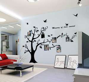 Photo Frame Large Tree Kids Room Art Mural Wall Sticker Decal