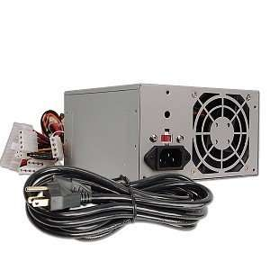 400 Watt 20+4 pin ATX Power Supply with SATA Electronics