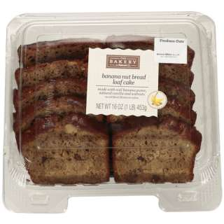 The Bakery At  Banana Nut Bread Loaf Cake, 16 oz