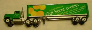 PA Council Girl Scout Cookie Semi Trailer Truck Model