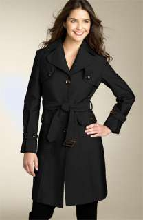 Kenneth Cole Reaction Pleated Trench Coat