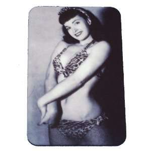 Bettie Page Sexy Bikini Pin Up Magnet Betty Pin Up