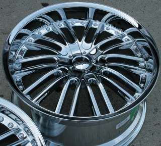 GIANELLE SPAARTA 20 CHROME RIMS WHEELS MAXIMA STAG