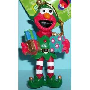 Kurt Adler Sesame Street Ornament   Elmo with Gifts