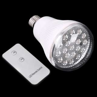 E27 20 LED Bulb Remote Control LED Light Bulb Lamp