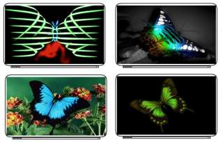 Butterfly Color Laptop Netbook Skin Cover Sticker Decal