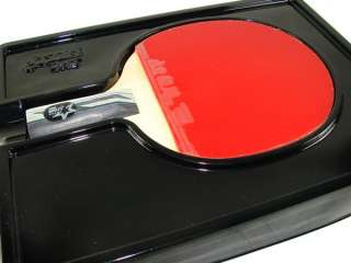 DHS Ping Pong Paddle Shakehand HURRICANE Ⅲ 5Star Table Tennis Racket