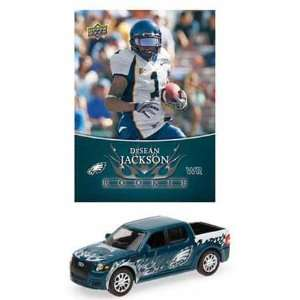 NFL Ford SVT Adrenalin Concept Diecast   Eagles with DeSean Jackson