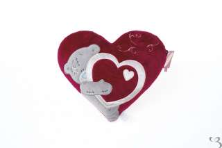 NEW Me To You Tatty Teddy Bear Appliqué Red Heart Love Valentine
