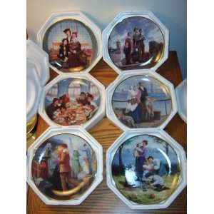 Franklin Mint   The Ellis Island Plate Set Everything