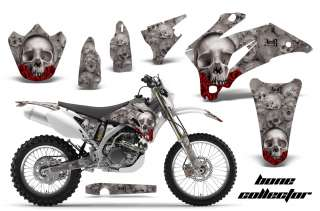 AMR RACING MX DIRT BIKE DECAL STICKER GRAPHIC SKULL YAMAHA WR 250/450F